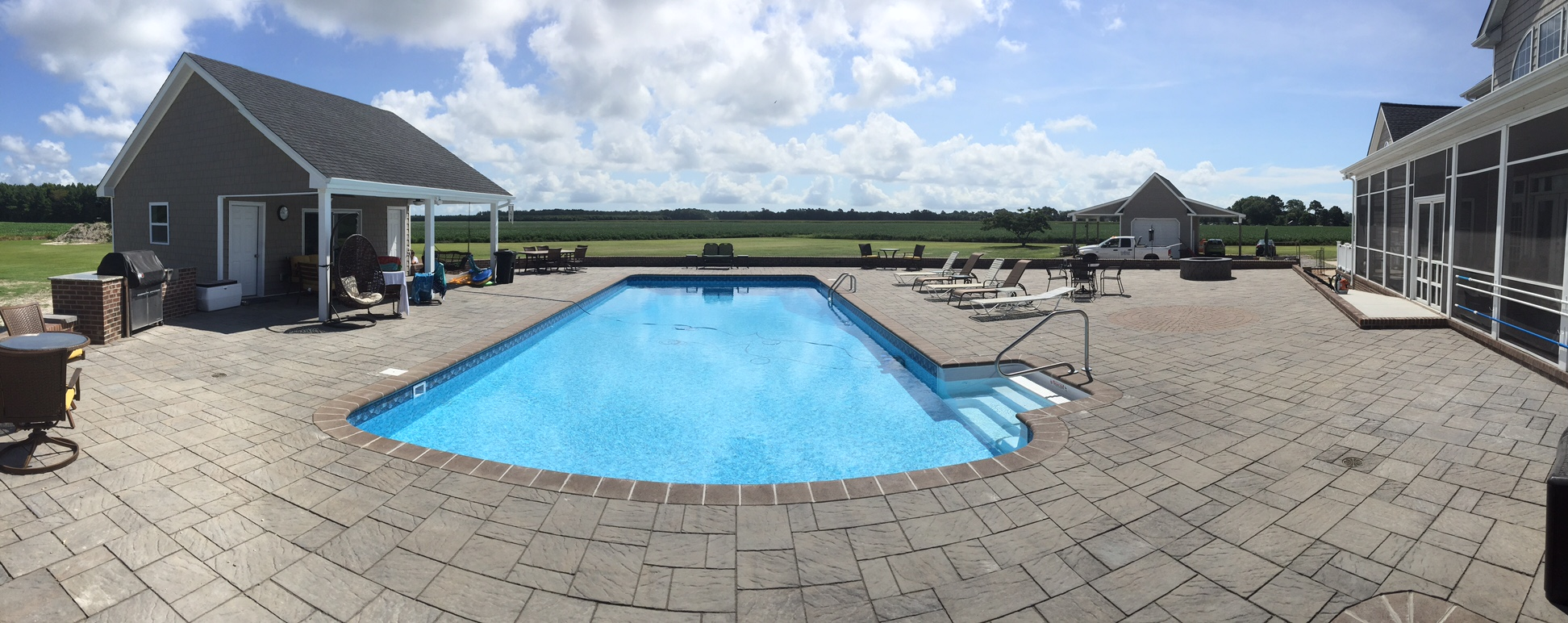 gulfstream pools and spas oceanfront installation corolla