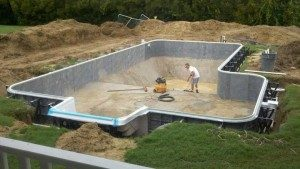 Pool Install Outer Bnaks Gulfstream Pool and Spas