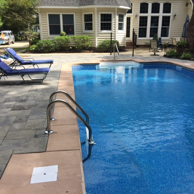 Swimming Pool Bank : Obx pool contractors swimming contractor in the